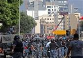 درگیریها در بیروت|المنار: درگیری و اغتشاش در ورودی میدان پارلمان ادامه دارد