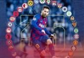 سیوپنجمین قربانی لیونل مسی در لیگ قهرمانان اروپا