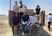 ادامه کمکهای ورزشکاران به روستاهای مرز ایران و افغانستان