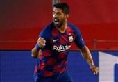 سوارس: شانس پیروزی بارسلونا مقابل بایرن مونیخ 50 درصد است
