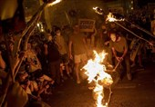Thousands Protest Near Netanyahu's Residence in Jerusalem Al-Quds (+Video)