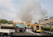 جزئیات آتشسوزی در بازار پردیس کیش /بخشی از بازار کاملا تخریب شد / یک نفر جانش را از دست داد + تصاویر