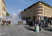 اخبار ناآرامیهای لبنان|هشدار ارتش به معترضان خشونتطلب/ حمله مهاجمان به برخی وزارتخانهها