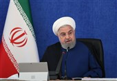 Iran President Hails World Solidarity with Lebanon after Beirut Blast