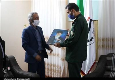 مدیرکل بنیاد حفظ آثار و نشر ارزشهای دفاع مقدس کرمان از دفتر استانی تسنیم بازدید کرد + تصاویر