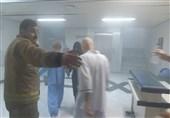 آتشسوزی بامدادی در انبار یک بیمارستان+تصاویر