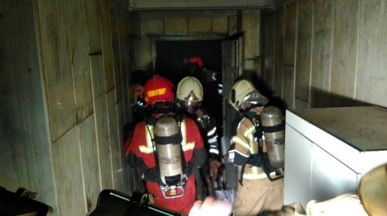 سازمان آتشنشانی تهران , آتشنشانی , آتشسوزی , بیمارستان , حوادث ,