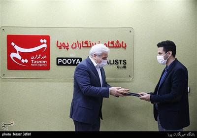بازدید معاون میراث فرهنگی کشور از خبرگزاری تسنیم