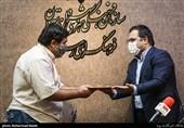 تجلیل از میثم رشیدی نویسنده و خبرنگار