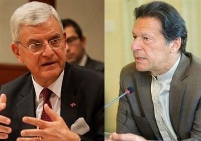 وزیراعظم کی اقوام متحدہ کی جنرل اسمبلی کے نومنتخب صدر سے ملاقات/ کشمیرسمیت خطے کی صورتحال پر تبادلہ خیال