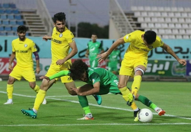 لیگ برتر فوتبال  فرار پارسجنوبی از شکست مقابل ماشینسازی با تعویض طلایی پورموسوی
