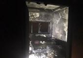 آتشسوزی در یک مهمانپذیر در خیابان کارگر + فیلم و تصاویر