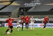 لیگ اروپا| منچستریونایتد در وقتهای اضافه صعود کرد