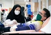 اهدای خون جامعه خبری کرمانشاه