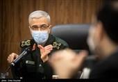 سرلشکر محمد باقری رئیس ستاد کل نیروهای مسلح در جلسه قرارگاه بهداشتی درمانی امام رضا (ع)