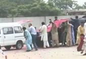 درگیری شدید پلیس ایالت پنجاب با طرفداران حزب نواز حین انتقال مریم نواز