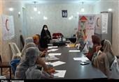 برگزاری دورههای آموزشی ویژه در بندر خمیر توسط هلال احمر+تصاویر