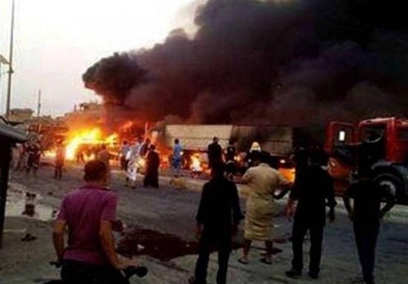 انفجار بمب در شمال بغداد