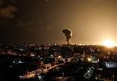 حمله توپخانهای و هوایی رژیم صهیونیستی به شرق و جنوب غزه