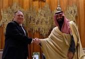 دیدار پامپئو با بن سلمان به روایت صهیونیستها! فرود هواپیمای اسرائیلی در نئوم عربستان