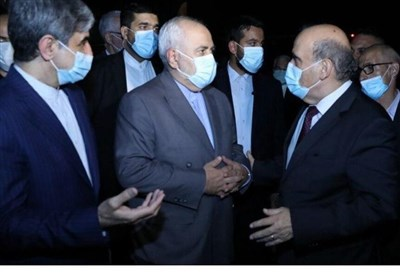 Iran's FM in Beirut for Talks