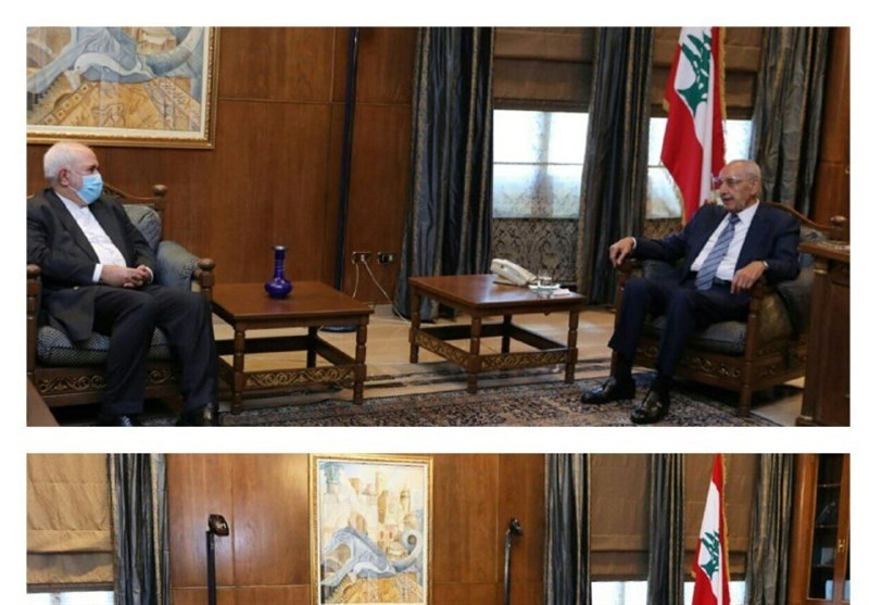 Zarif Holds Talks with Berri in Beirut