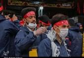 گروههای جهادی در 13 محله قزوین برای حمایت از بیماران کرونایی به میدان آمدند