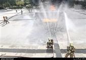گزارش  تجهیزات نوین و سامانه اطلاعرسانی به سازمان آتشنشانی قزوین تزریق میشود + فیلم