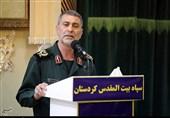 فرمانده سپاه بیتالمقدس: همه ظرفیتها را برای محرومیتزدایی و خدمتگزاری به مردم کردستان فعال کردهایم