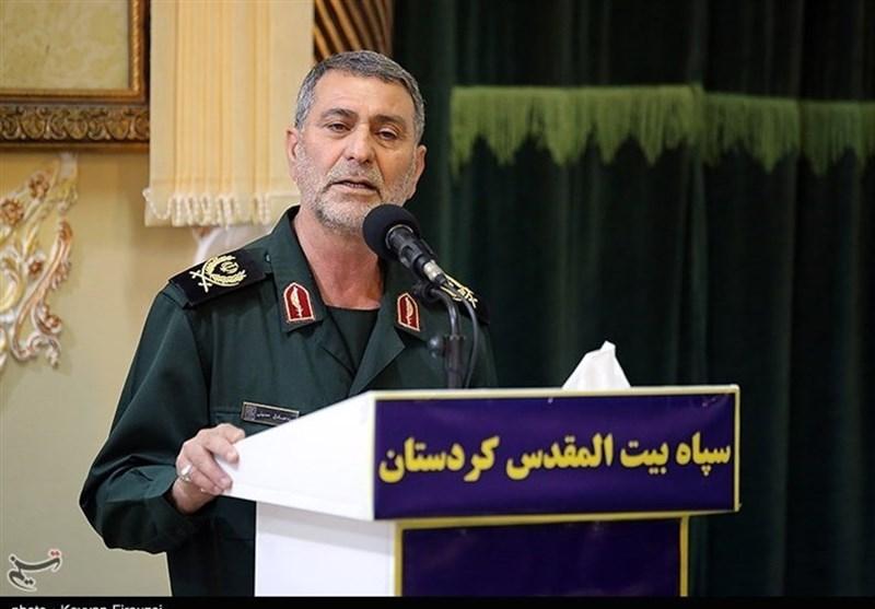 فرمانده سپاه کردستان: بسیج همواره در مشکلات ناجی جامعه است