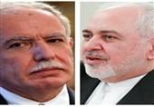 گفتگوی تلفنی ظریف و وزیر خارجه فلسطین