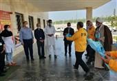 تقدیر آزادگان قرچک از مدافعان سلامت بیمارستان شهید ستاری