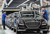 کاهش فروش جهانی خودروسازان کره جنوبی در ماه اکتبر