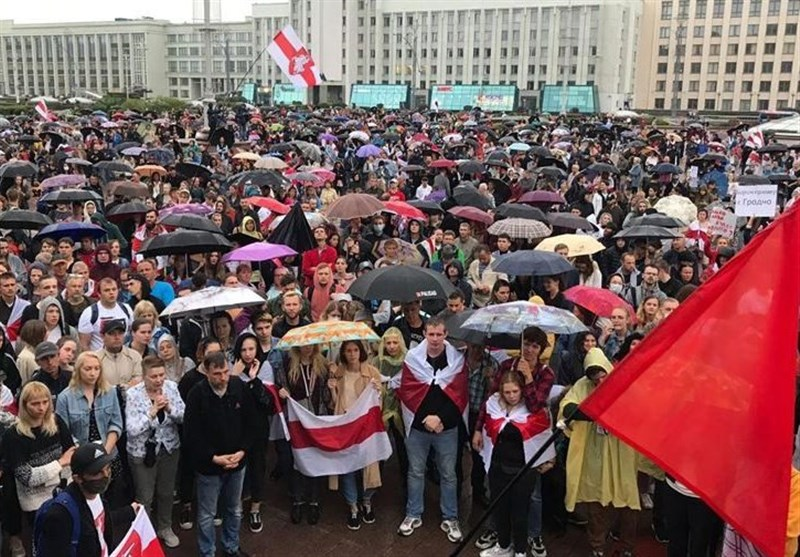 At Least 900 People Take Part in Belarusian Rallies Saturday: Spokesperson