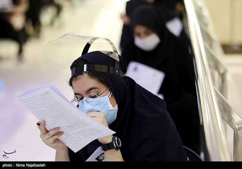 کنکور سراسری تحت کنترل ناظران بهداشت در 85 حوزه خراسان رضوی برگزار شد