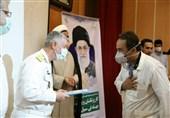 تقدیر امیر خانزادی از پزشکان بیمارستان گلستان نیروی دریایی ارتش