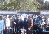کلنگزنی ساختمان اداری فدراسیون اتومبیلرانی با حضور صالحیامیری و علینژاد