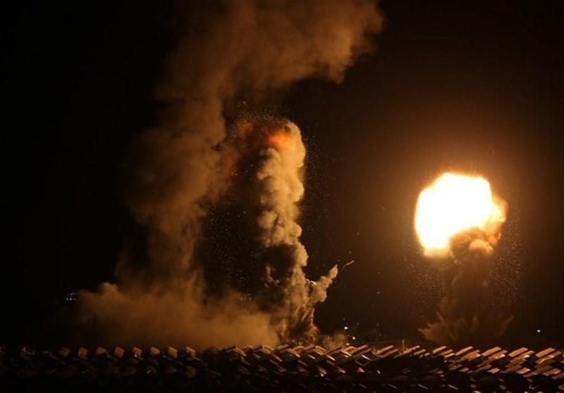 حمله هوایی رژیم صهیونیستی به جنوب غزه