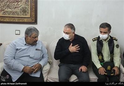 تهران  شهادت یک مامور پلیس حین تعقیب پراید سرقتی