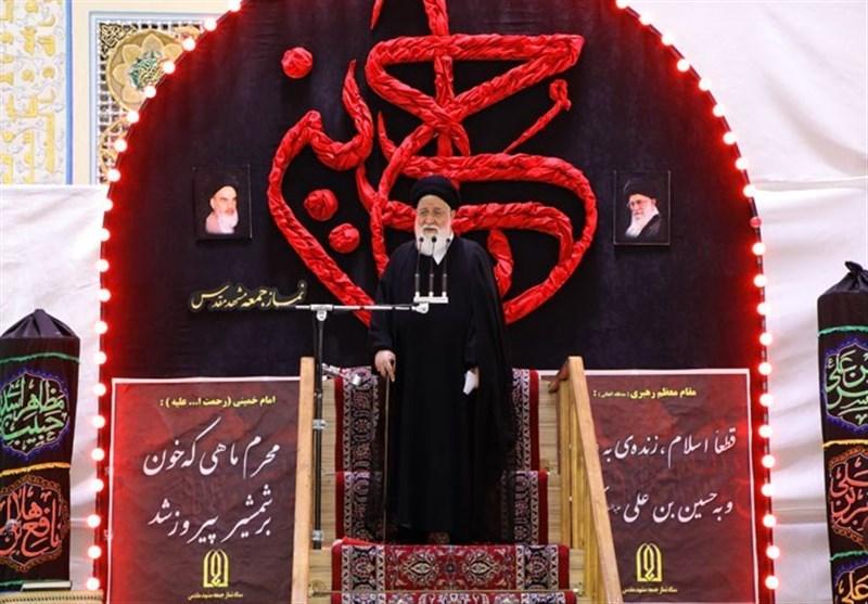 """آیتالله علمالهدی: امروز مقاومت حد و مرز ندارد؛ """"حسیندوستی"""" به ایستادگی در راه دین است"""