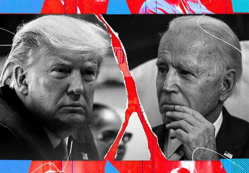 پیشتازی 12 درصدی بایدن نسبت به ترامپ در نظرسنجی ملی- اخبار آمریکا - اخبار  بین الملل تسنیم - Tasnim