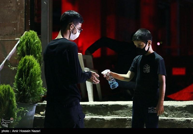 عزاداری شب سوم محرم در مهدیه بزرگ قزوین