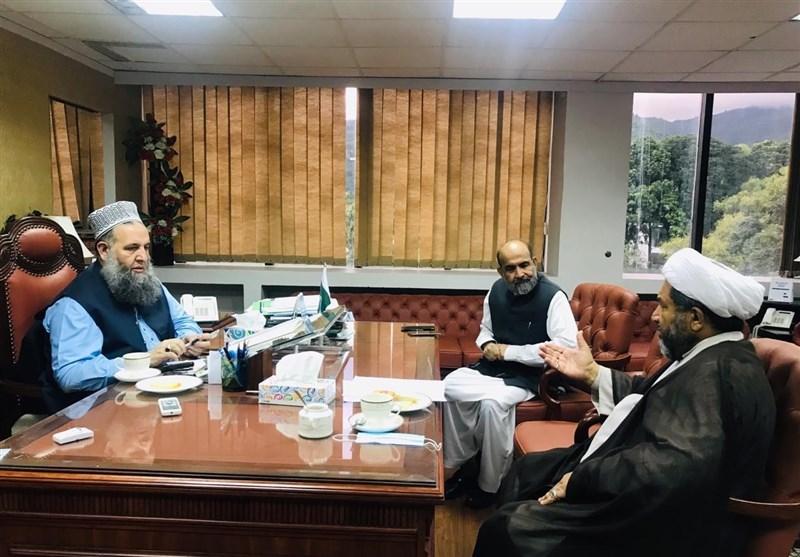 علامہ عارف واحدی کی ڈاکٹر نور الحق قادری سے ملاقات، ملک میں فرقہ واریت پھیلانے کی ناکام کوششوں کی مذمت