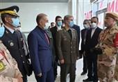 دیدار وزیر دفاع با تیم «حافظان نظم» اعزامی ایران به روسیه