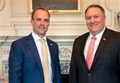 دیدار و گفتوگوی وزیر خارجه آمریکا با همتایان انگلیسی و اسرائیلی خود در قدس اشغالی