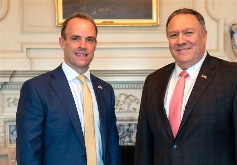 پامپئو: برجام یک شکست دیپلماتیک بود/ دومینیک راب: از تلاش آمریکا برای گسترش دادن برجام به سایر حوزهها حمایت میکنیم