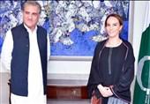 تاکید شاه محمود قریشی بر حل مساله کشمیر در ملاقات با رئیس اتحادیه بین المجالس جهانی