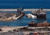 لبنان  انتقال چند نوع ماده شیمیایی از بندر بیروت