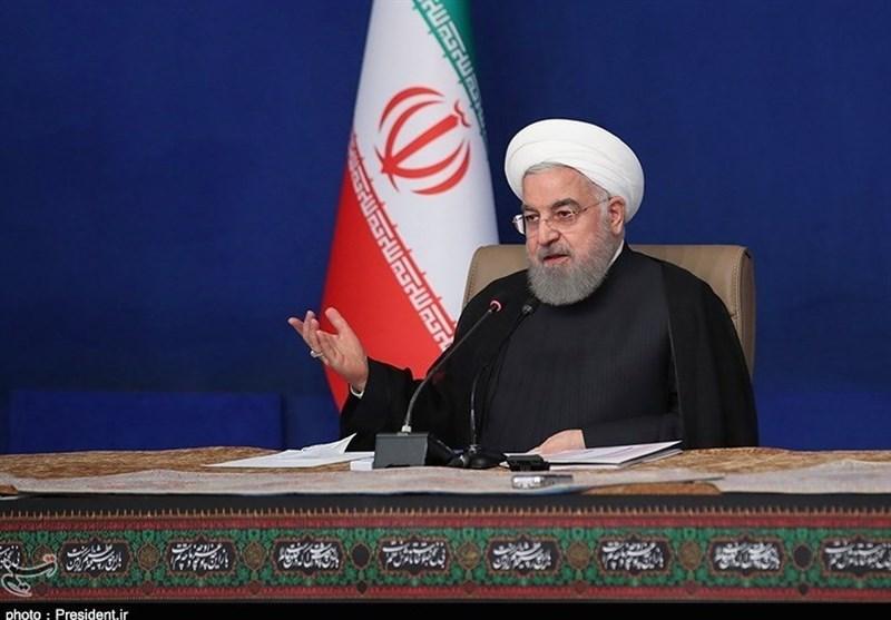 روحانی: شکستهای اخیر آمریکا نتیجه مقاومت و ایستادگی ملت ایران است
