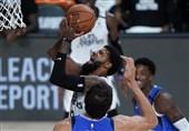 لیگ NBA| پیروزی کلیپرز با 62 امتیاز لنرد و جرج/ بروکلین با درخشش هاردن برنده شد